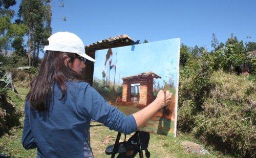 Pintura al Aire Libre Cajabamba